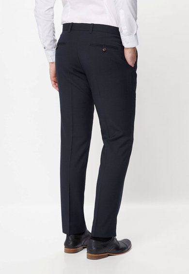 NEXT Pantaloni slim fit din amestec de lana Barbati