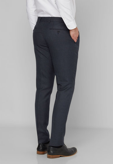 NEXT Pantaloni eleganti cu model houndstooth Barbati