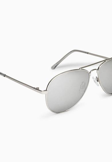 NEXT Ochelari de soare aviator argintii Baieti