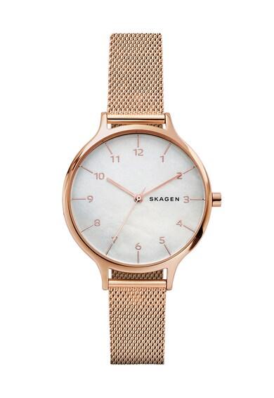 Skagen Часовник в розово-златисто Жени