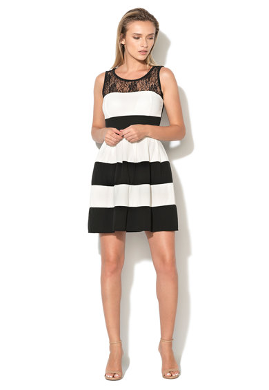 Haily's Hailys, Раирана рокля с дантела Жени