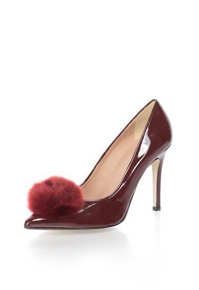 Versace 19.69 Abbigliamento Sportivo Лачени обувки в бордо с остър връх Жени