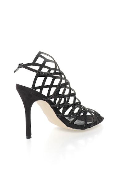 Versace 19.69 Abbigliamento Sportivo Черни сандали с декоративни камъни Жени