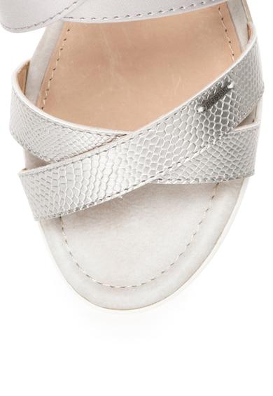 BIG STAR Sandale wedge argintii Femei