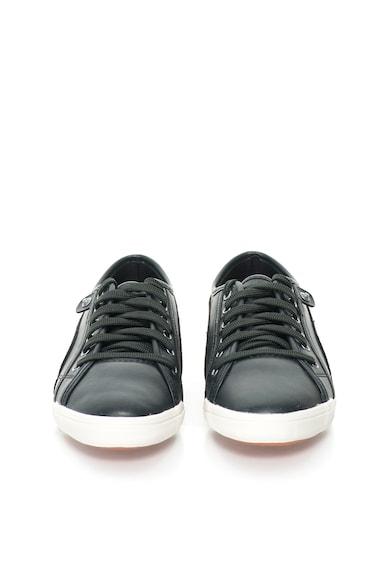 Puma Pantofi sport negri de piele sintetica Femei