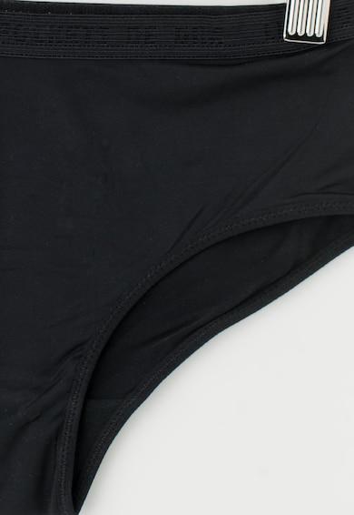 DIM Boxeri negru cu alb din microfibra Fete