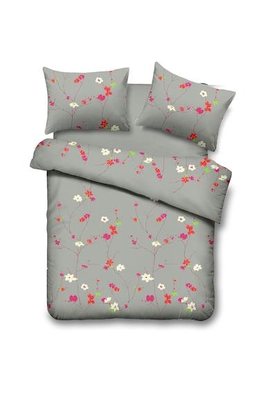 Vanora Home Lenjerie de pat pentru 2 persoane  4 piese, microfibra, Spring Femei