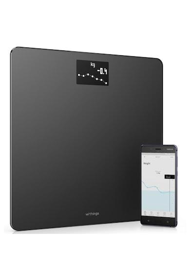 Nokia Cantar de persoane  Body BMI WBS06, Wi-fi, 180 Kg, Negru Femei