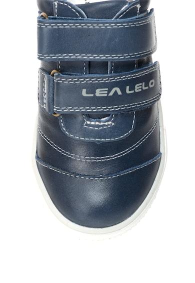 Lea Lelo Pantofi sport de piele cu velcro Baieti