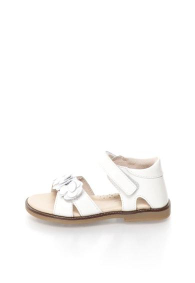 Lea Lelo Лачени сандали с флорални апликации Момичета