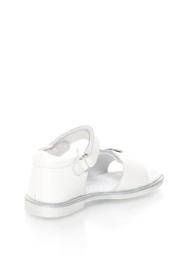 Lea Lelo Кожени сандали с флорална апликация и декоративни камъни Момичета