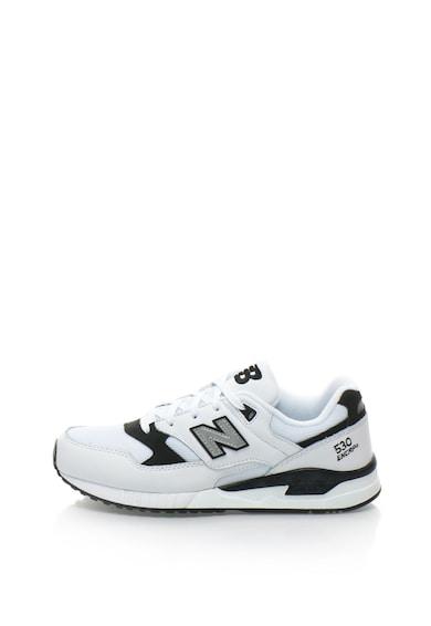 New Balance 530 sportcipő bőr anyagbetétekkel férfi