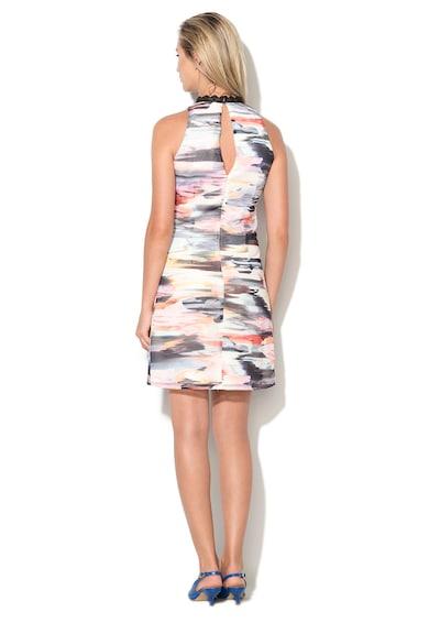 Little Mistress Къса рокля с абстрактен десен Жени