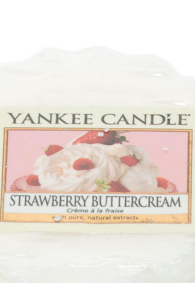 YANKEE CANDLE Set de tarte de ceara parfumata Strawberry Buttercream - 2 piese Femei