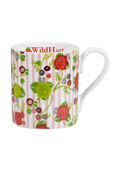 CHURCHILL Cana multicolora cu model floral Wild Hart Femei