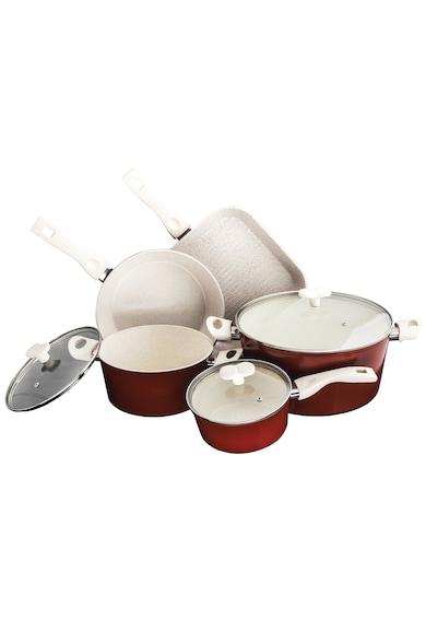 Cooking by Heinner Set 8 piese Heinner Marlene, Ceramica + Marmura, inductie Femei