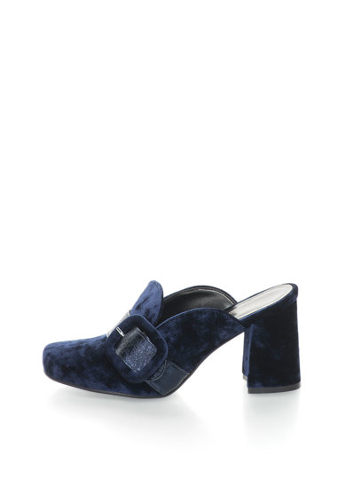 Zee Lane Collection Bársonycipő vastag sarokkal női