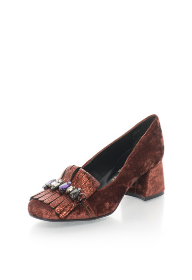 Zee Lane Collection Обувки с декоративни камъни и мека повърхност Жени