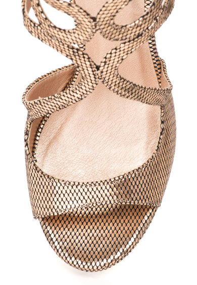 Bullboxer Sandale cu barete multiple si model reptila Femei
