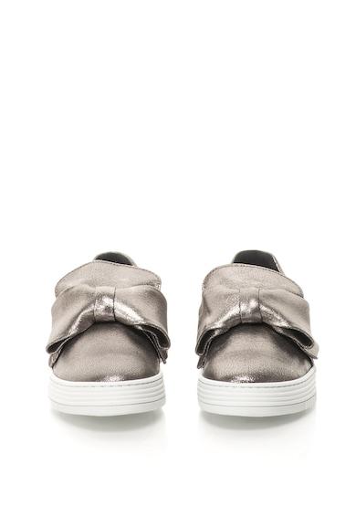 Bullboxer Pantofi slip-on de piele cu funda decorativa Femei