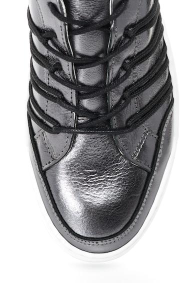 Bullboxer Pantofi sport de piele cu sireturi Femei