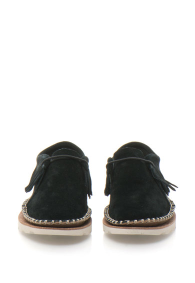 Clarks Pantofi chukka flatform de piele intoarsa Damara Thrill Femei