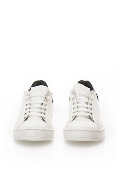 Zee Lane Pantofi sport de piele cu aplicatie cap-toe Femei