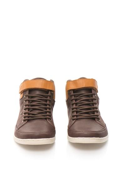 Boxfresh Pantofi sport mid-high de piele Swich E15121 Barbati