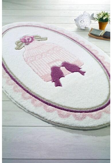 Confetti Covor  Birdcage - Pink, 80 x 130 cm Femei