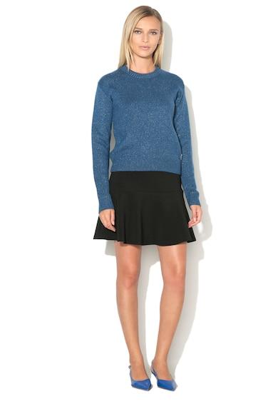 Love Moschino Pulover tricotat fin cu insertii din lurex Femei
