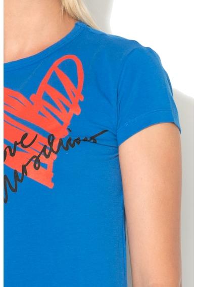Love Moschino Тениска с фигурален десен Жени
