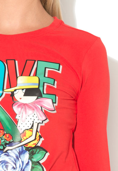 Love Moschino Bluza cu imprimeu Femei