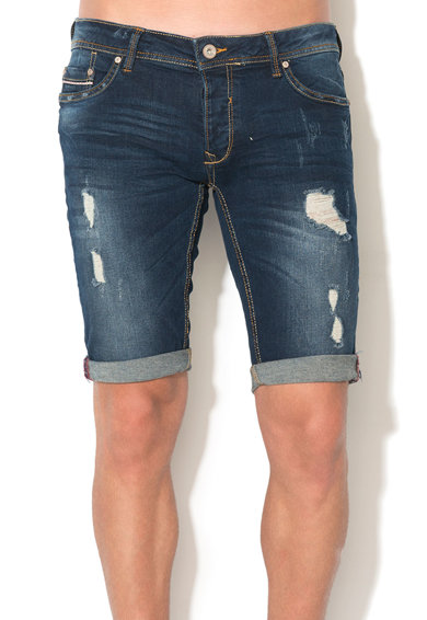 Alcott Bermude regular fit din denim cu aspect deteriorat Barbati