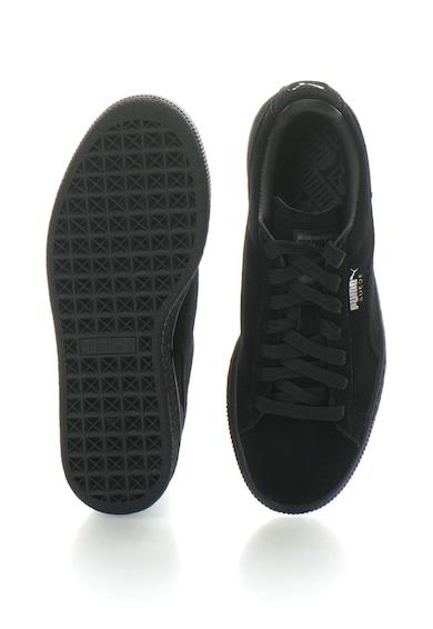 Puma Pantofi sport de piele intoarsa, cu logo discret Classic, Unisex Femei