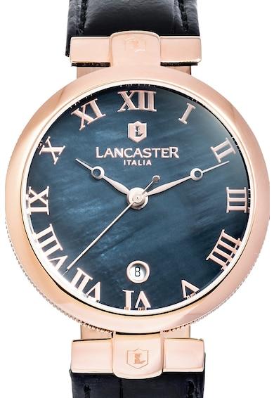 Lancaster Ceas cu o curea cu model crocodil Prestige Lady Femei