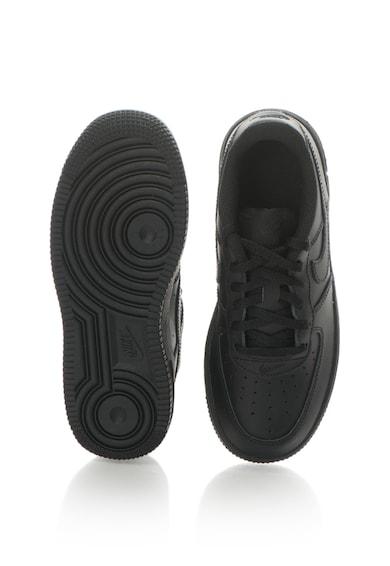 Nike Force 1 bőrcipő perforált részletekkel Fiú