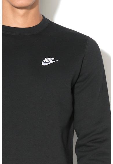 Nike Bluza sport cu decolteu la baza gatului4, Negru, L Barbati