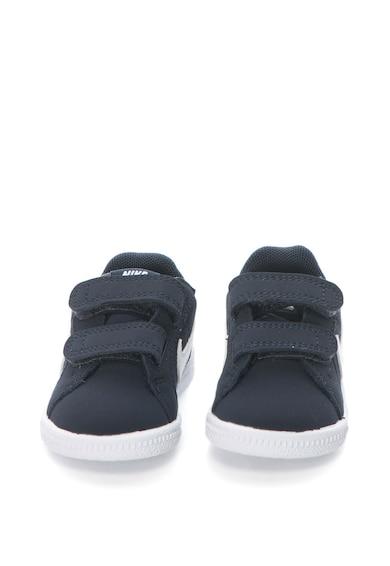 Nike Pantofi sport de piele cu logo Court Royale Baieti