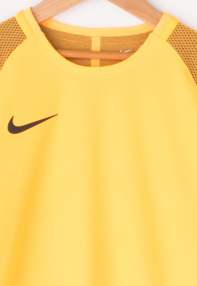 Nike Tricou cu detalii perforate, pentru fotbal Baieti
