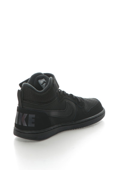 Nike Pantofi sport cu insertii de piele Court Borough Baieti