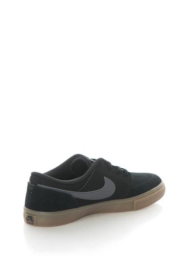Nike Pantofi sport cu insertii de piele intoarsa SB Portmore II Solar Barbati