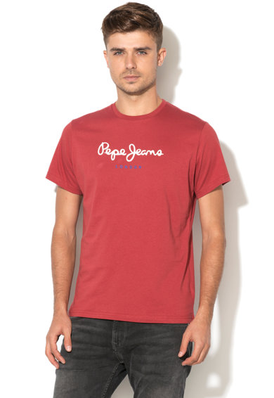 Pepe Jeans London Tricou regular fit cu logo Eggo Barbati