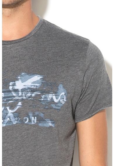 Pepe Jeans London Tricou slim fit cu imprimeu logo Robinia Barbati