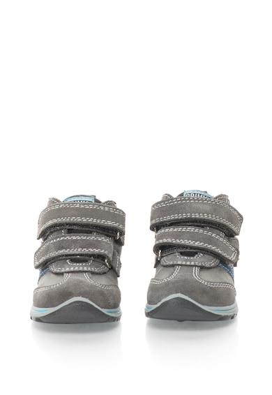 Primigi Pantofi sport mid-high cu garnituri de piele intoarsa Baieti