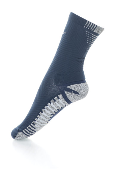 Nike Sosete cu detalii in dungi pentru fotbal, Unisex Femei