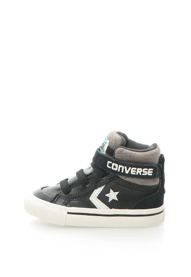 Converse Pantofi sport inalti cu garnituri de piele si logo Pro Fete