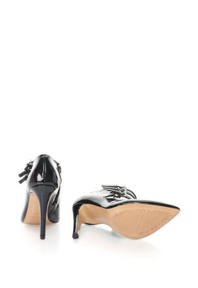Roberto Botella Pantofi de piele lacuita cu toc inalt Femei