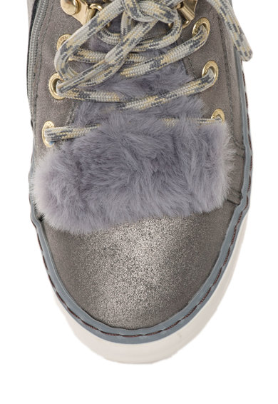 Gioseppo Pantofi sport inalti cu captuseala de blana sintetica Baieti
