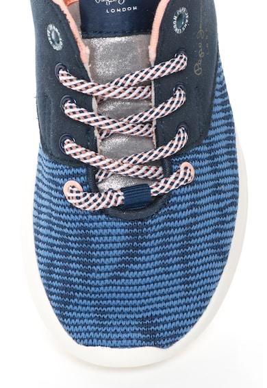Pepe Jeans London Спортни обувки с контрастни детайли Момичета