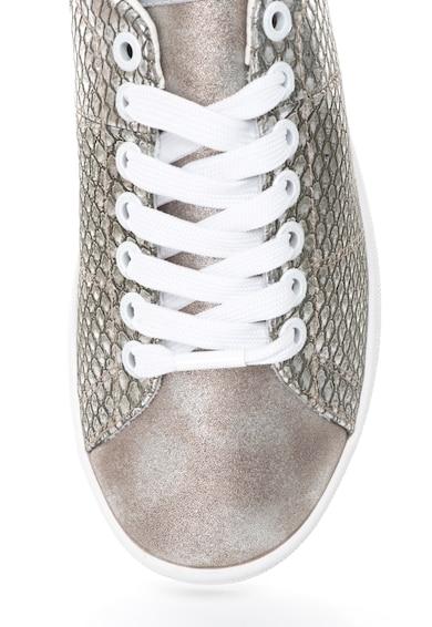Pepe Jeans London Brompton Sneakers Hüllőbőr Mintával női